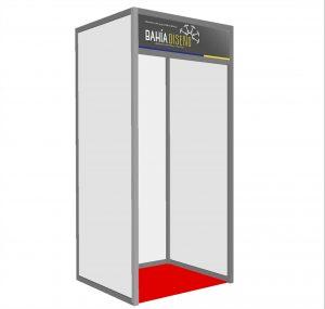 diseño de stands 1x1 Coyhaique